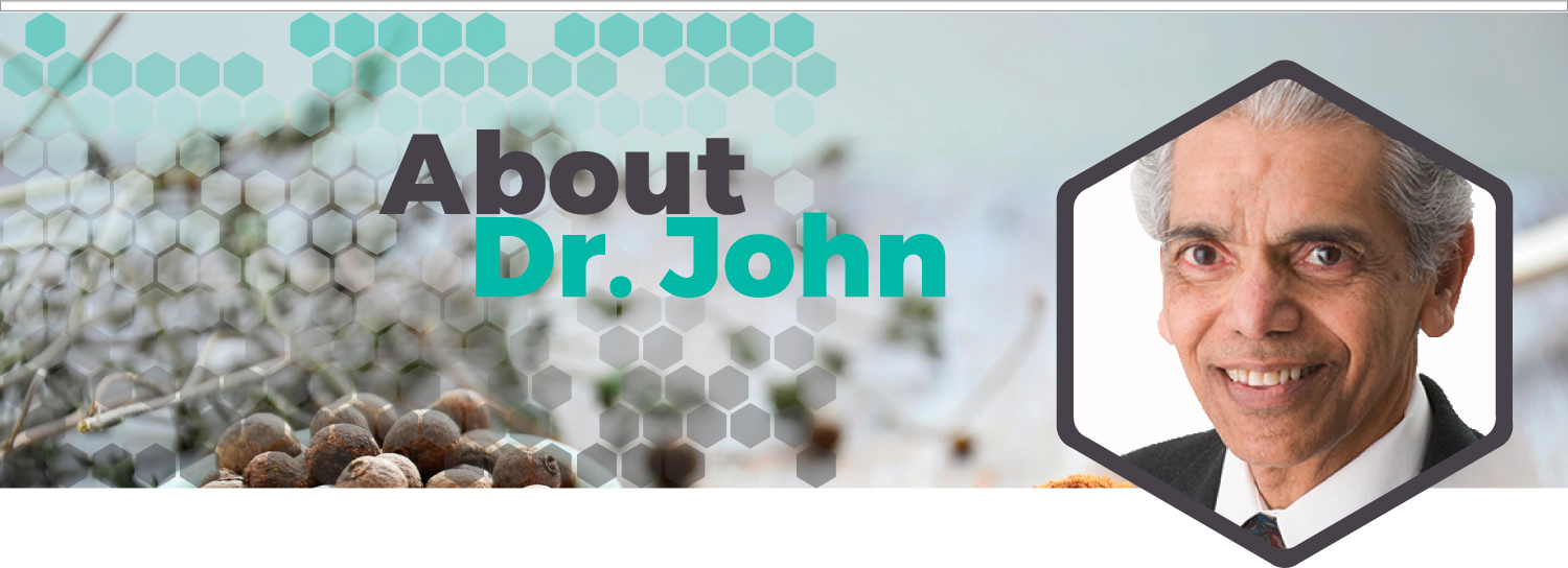 Header About Dr. John