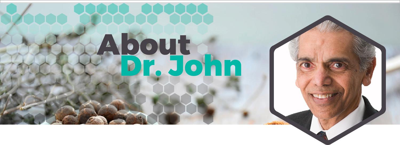 Header About Dr. John